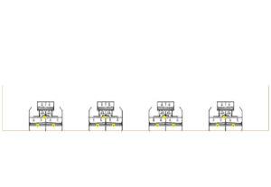 Etagesystem COMBO från Landmeco