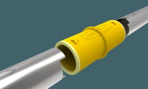 En bild på safe connector från landmeco